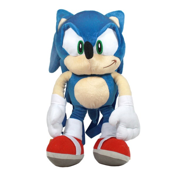 Sonic The Hedgehog Plush Backpack