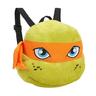 Teenage Mutant Ninja Turtle Michelangelo Plush Backpack