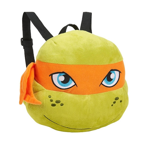 Teenage Mutant Ninja Turtle Michelangelo Plush Backpack 13720648