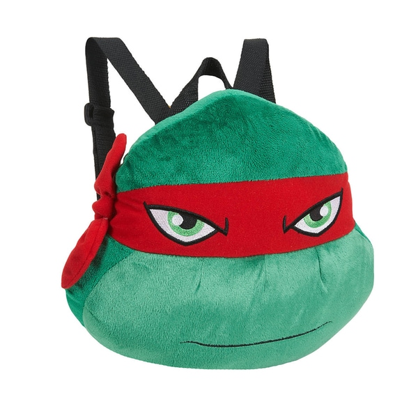 Teenage Mutant Ninja Turtle Raphael Plush Backpack