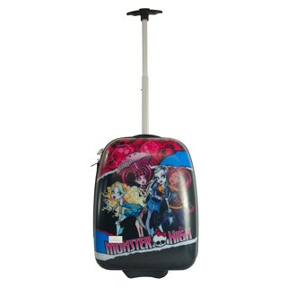 Monster High 18-inch Kids Hardside Rolling Upright Suitcase