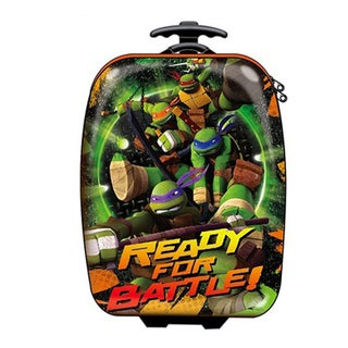 Teenage Mutant Ninja Turtles 18-inch Kids Hardside Rolling Upright Suitcase