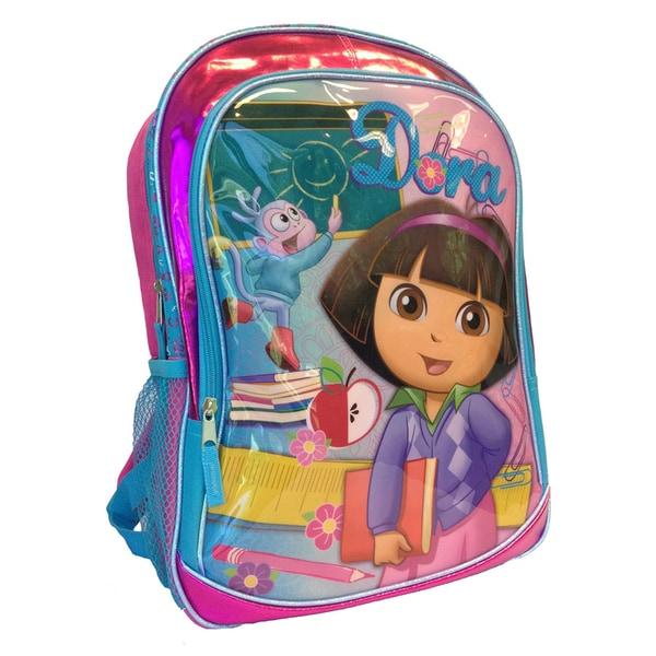 Dora The Explorer 16-Inch Backpack