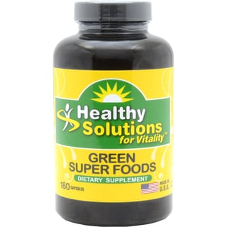 Green Super Foods Capsules 180-count (Pack of 3)