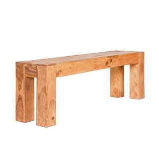 Greentrend Natural Bleach Sheesham Wood Bench