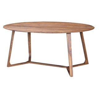 Metropolitan American Walnut Oval Dining Table