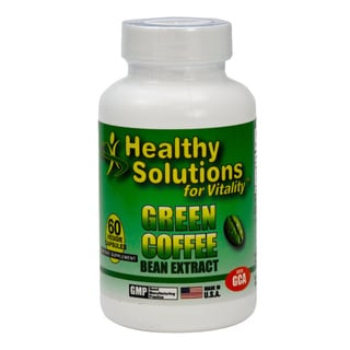 Healthy Solutions 60-count Green Coffee Bean Extract Capsules (Pack of 3)