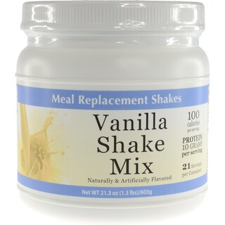 Vanilla and Chocolate Meal Replacement Shakes