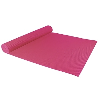 Sivan Health And Fitness Pink Yoga Mat