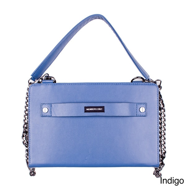 Members Only Large Essential Leather Clutch