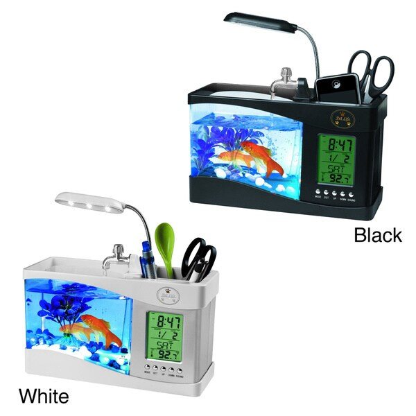 All-in-one Digital Desktop Aquarium - 16479352 - Overstock.com ...