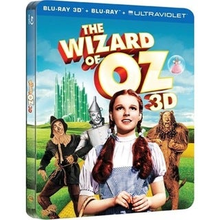 Wizard of Oz 3D: 75th Anniversary Collectable Metal Case (Blu-ray Disc) 13722309