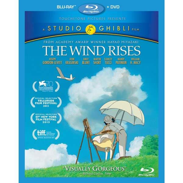 The Wind Rises (Blu-ray/DVD) 13722312