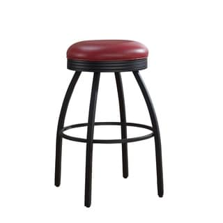 Sadie Red Counter Height Stool