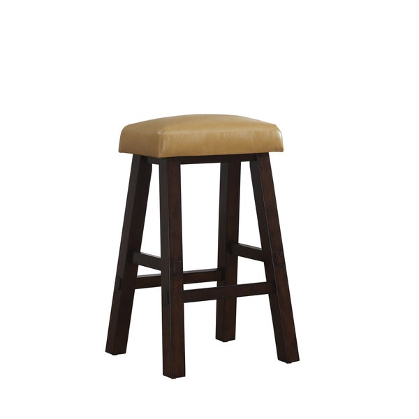 Turin Orange Bar Height Stool