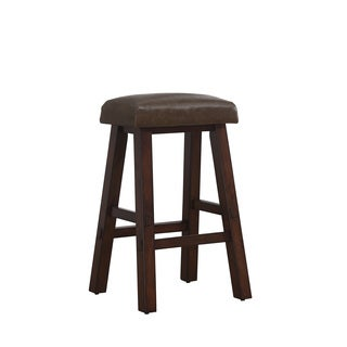 Turin Oak Counter Height Stool in Brown