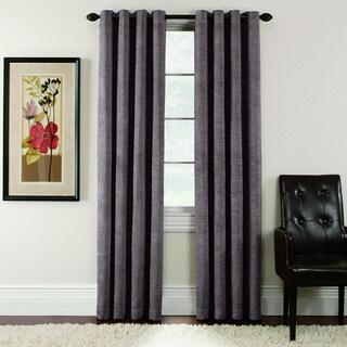 Antique Velvet Blackout Grommet-top 84-inch Curtain Panel Pair