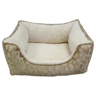 Pebble Embossed Rectangle Memory Foam Pet Bed