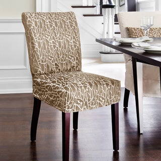 Westwood Dining Chair Relaxed Fit Slipcover with Buttons