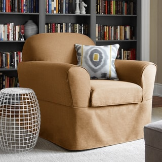 Bayside Two-piece Chair Relaxed Fit Wrap Slipcover