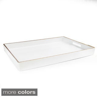 Tray with Gold Piping