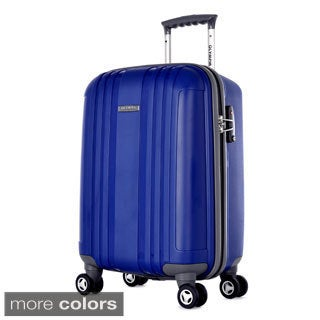 Olympia Tank 26-inch Polypropylene Medium Spinner Upright Suitcase with TSA Lock