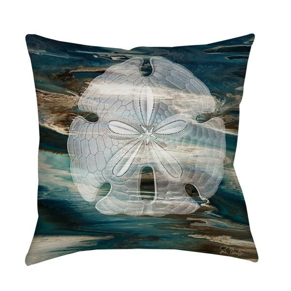 Thumbprintz Coastal Span II Throw/ Floor Pillow