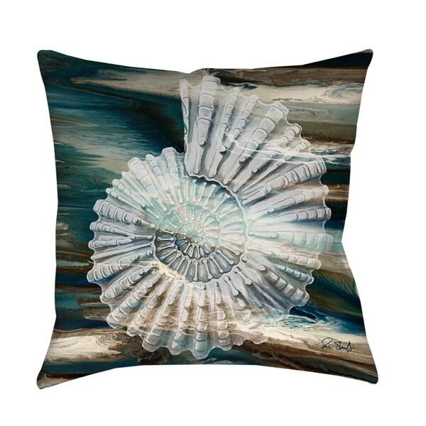 Thumbprintz Coastal Span III Throw/ Floor Pillow 13723230