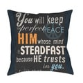 Thumbprintz In Perfect Peace Throw/ Floor Pillow