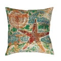 Thumbprintz Coastal Motif I Throw/ Floor Pillow