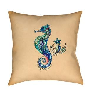 Thumbprintz Seahorse Throw/ Floor Pillow