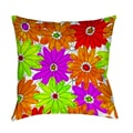 Thumbprintz Funky Florals Daisy Fuchsia Throw/ Floor Pillow