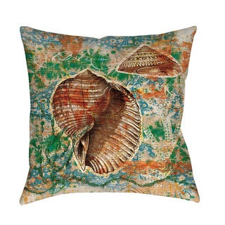 Thumbprintz Coastal Motif II Throw/ Floor Pillow