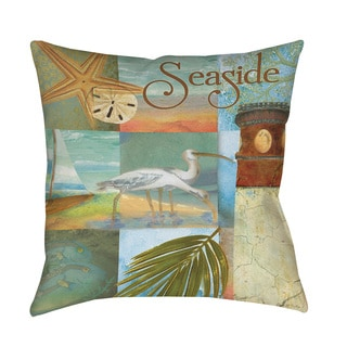 Thumbprintz Beach Memories A Throw/ Floor Pillow