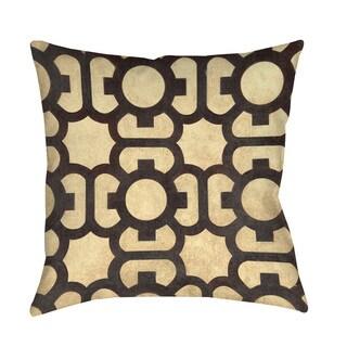 Thumbprintz Octagon Points Throw/ Floor Pillow