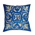 Thumbprintz Blue Mosaic Throw/ Floor Pillow
