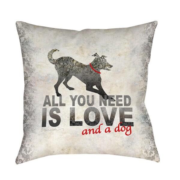 Thumbprintz All You Need Throw/ Floor Pillow