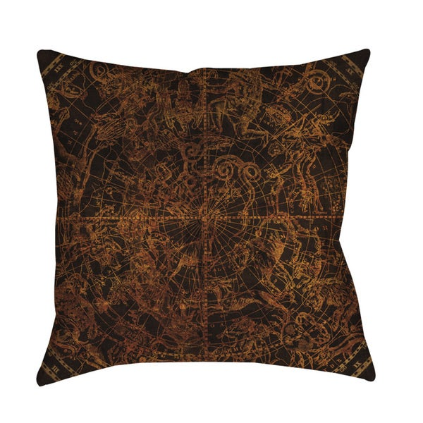 Thumbprintz Northern Celestial Sphere Vintage Floor Pillow