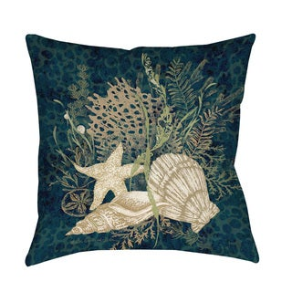 Thumbprintz Sea Shells Vignette Floor Pillow