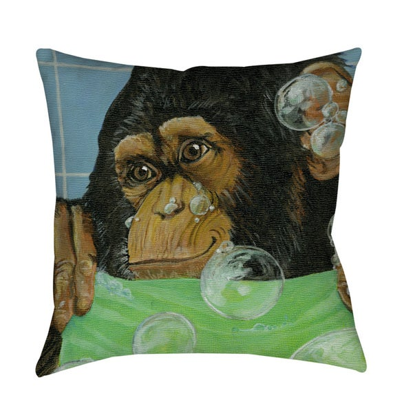 Thumbprintz Bubbles James Floor Pillow