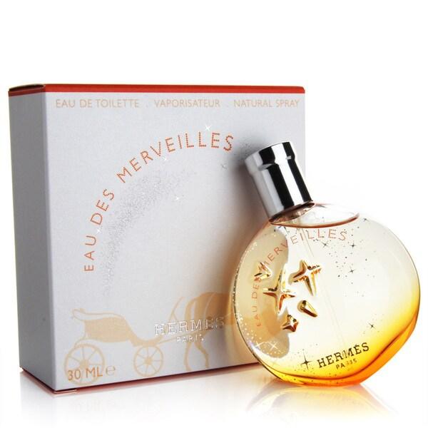 Hermes Eau des Merveilles Women's 1-ounce Eau de Toilette Spray