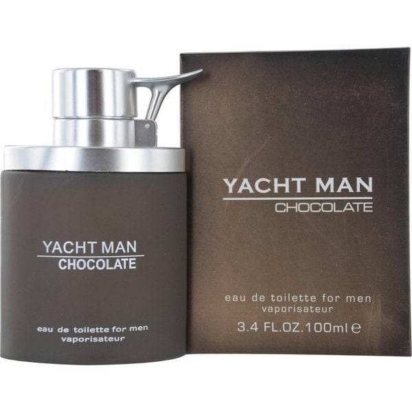 Yacht Man Chocolate Men's 3.4-ounce Eau de Toilette Spray