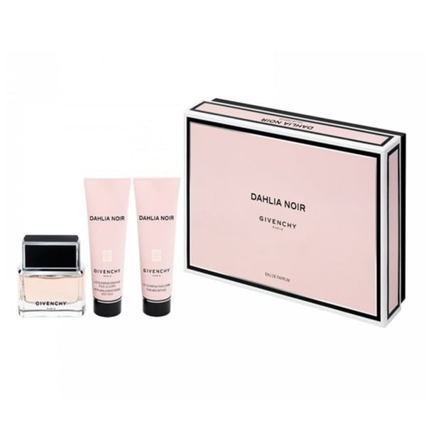 Givenchy Dahlia Noir Women's 3-piece Fragrance Set with Candle