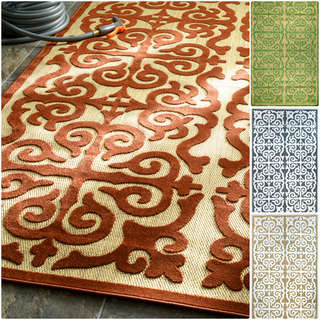 nuLOOM Contemporary Indoor/ Outdoor Porch Rug (9' x 12')