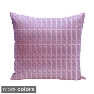 20 x 20-inch Two-tone Geometric Decorative Pillow