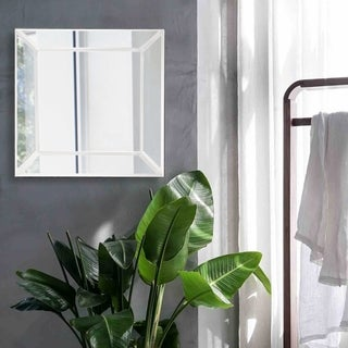 Rogue Wood Base Mirror with 4-inch Profile