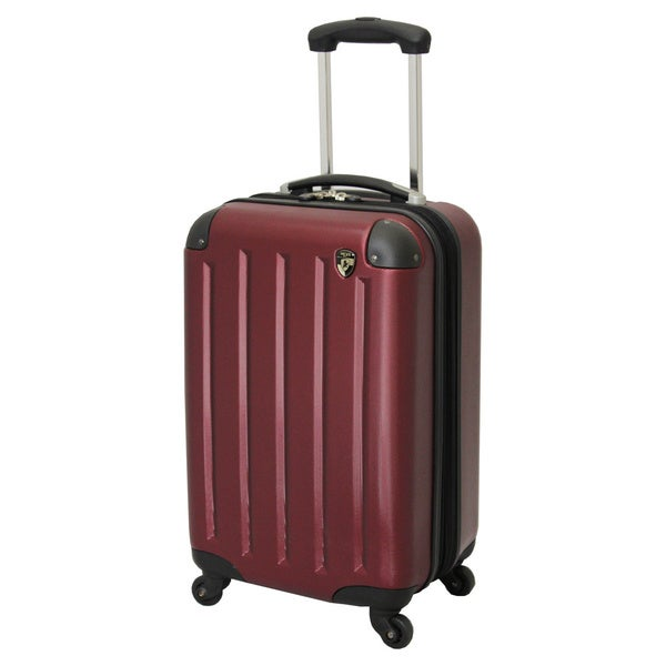 Heys Usa 20inch Lightweight Expandable Spinner Carryon Luggage With Bonus Combination Lock image