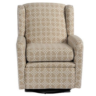 Riley Tan Geometric Lattice Recliner