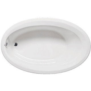 Americh CA6040ADAL-WH Catalina Luxury Oval Whirlpool Bathtub with 6 Jets