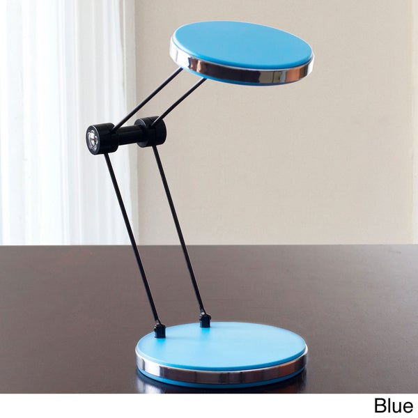 Lavish Home LED White Light Foldable USB Desk Lamp